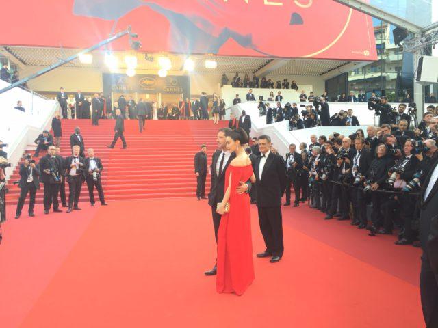"""""""Lady in the Portrait"""" Séance spéciale- Cannes 2017 - Fan Bingbing, Melvil Poupaud et Charles de Meaux"""